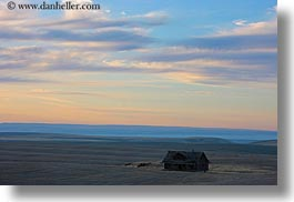 america, barn, horizontal, landscapes, north america, oregon, scenics, united states, photograph