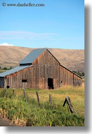america, barn, landscapes, north america, oregon, scenics, united states, vertical, photograph