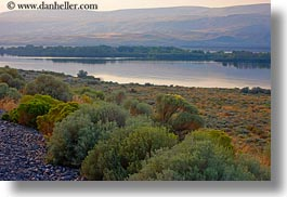 america, bushes, horizontal, landscapes, north america, oregon, rivers, scenics, united states, photograph