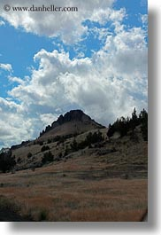 america, buttes, clouds, landscapes, north america, oregon, scenics, united states, vertical, photograph