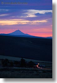 america, mt jefferson, north america, oregon, scenics, sunsets, united states, vertical, photograph