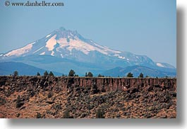 america, canyons, horizontal, mt jefferson, north america, oregon, scenics, united states, walls, photograph