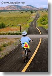 activities, america, bike path, biking, boys, bryce canyon, childrens, jacks, long, north america, paths, people, united states, utah, vertical, western usa, photograph