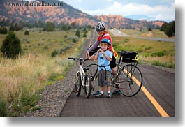 activities, america, bike path, biking, boys, bryce canyon, childrens, horizontal, jacks, north america, paths, people, sarah, tour guides, united states, utah, western usa, womens, photograph