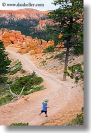 america, boys, bryce canyon, canyons, childrens, clothes, hats, jacks, north america, people, united states, utah, vertical, western usa, photograph