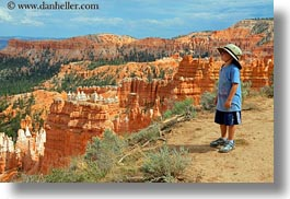 america, boys, bryce canyon, byrce, canyons, childrens, clothes, hats, horizontal, jacks, north america, people, united states, utah, views, western usa, photograph