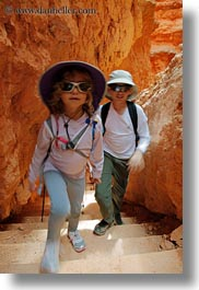 america, bryce canyon, canyons, childrens, clothes, girls, hats, north america, people, samantha, united states, utah, vertical, western usa, photograph