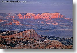 america, bryce, bryce canyon, canyons, horizontal, north america, scenics, sunsets, united states, utah, western usa, photograph