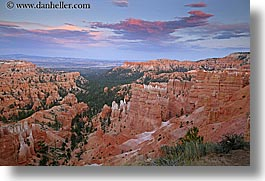 america, bryce, bryce canyon, canyons, clouds, horizontal, north america, scenics, slow exposure, united states, utah, western usa, photograph