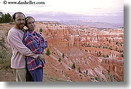 america, bryce canyon, couples, dans, happy, horizontal, jills, men, north america, scenics, slow exposure, united states, utah, western usa, womens, photograph