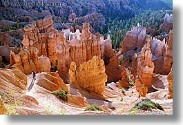 america, bryce canyon, canyons, hiking, horizontal, north america, people, scenics, united states, utah, western usa, photograph