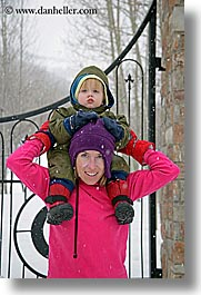 america, babies, boys, jack and jill, jacks, mothers, north america, park city, snow, united states, utah, vertical, western usa, womens, photograph
