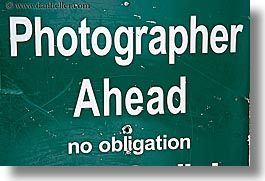 ahead, america, horizontal, north america, park city, photographers, signs, united states, utah, western usa, photograph