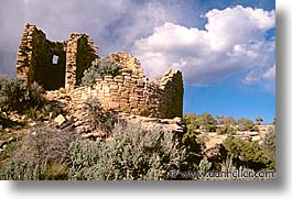 america, architectural ruins, horizontal, hovenweep, north america, united states, utah, western usa, photograph