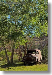 america, cars, miscellaneous, north america, old, united states, utah, vertical, western usa, zion, photograph
