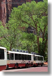 america, bus, miscellaneous, north america, tours, united states, utah, vertical, western usa, zion, photograph
