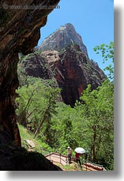 america, mountains, north america, rocks, united states, utah, vertical, views, weeping, western usa, zion, photograph