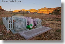 america, boys, girls, graves, horizontal, north america, rockville cemetery, united states, utah, western usa, zion, photograph