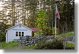 office, orcas island, post, washington, united states, photograph