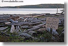 orcas island, private, sign, property, washington, united states, photograph