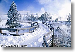 america, horizontal, north america, snow, united states, winter, wyoming, yellowstone, photograph