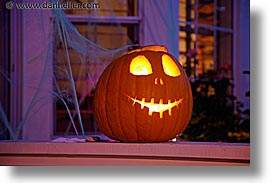 christmas, halloween, homes, horizontal, long exposure, personal, pumpkins, photograph