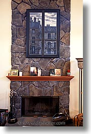 fireplace, homes, personal, vertical, photograph