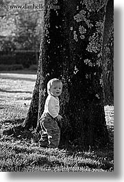 aug, babies, black and white, boys, infant, jacks, oct, trees, vertical, photograph