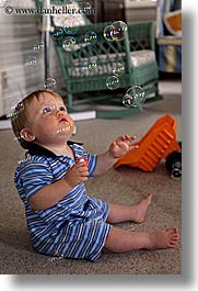 babies, boys, bubbles, indy june, infant, jacks, lake wawasee, vertical, photograph