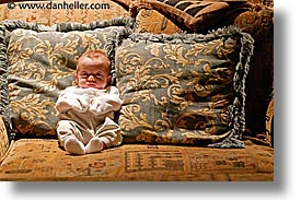 babies, boys, couch, horizontal, infant, jacks, photograph