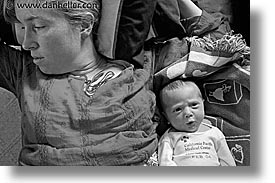babies, black and white, boys, horizontal, infant, jack and jill, jacks, mothers, photograph