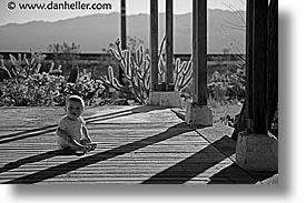 babies, black and white, boys, childrens, horizontal, infant, jacks, nipton, people, porch, photograph