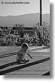 babies, black and white, boys, childrens, infant, jacks, nipton, people, porch, vertical, photograph