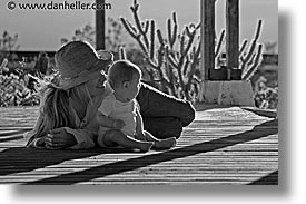 babies, black and white, boys, childrens, horizontal, infant, jack and jill, jacks, mothers, nipton, people, porch, photograph
