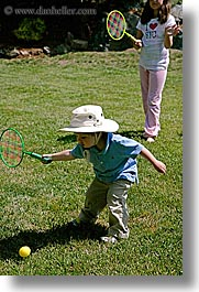 boys, childrens, clothes, hats, jacks, mothers day, people, personal, raquet, tennis, toddlers, vertical, photograph