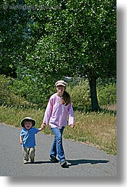 activities, boys, childrens, jacks, jills, mothers day, people, personal, toddlers, vertical, walk, walking, womens, photograph